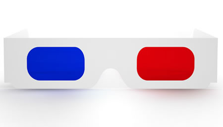 3d Movie Glasses for Photoshop