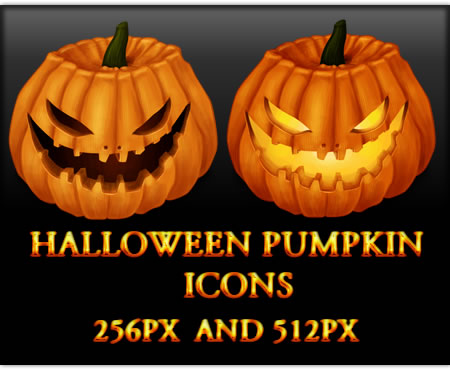 Halloween Pumpkin Icons