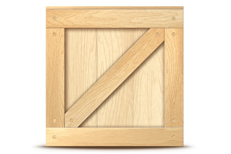 Wooden Crate Icon for Photoshop