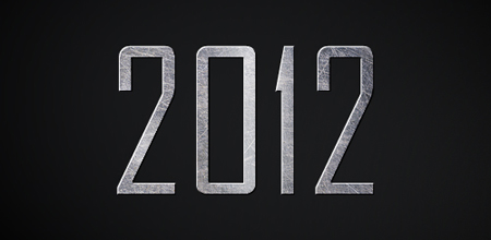 2012 Text Effect for Photoshop