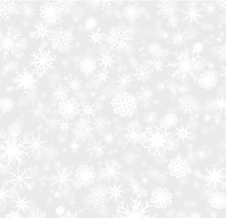 Snowflake Textured Background