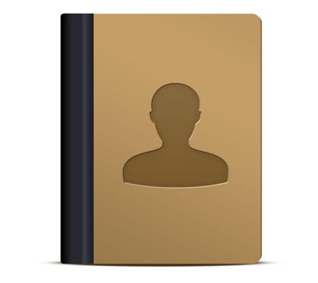 Address Book organizer Icon