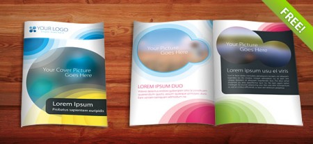 Brochure Template for Photoshop