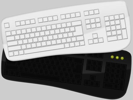 computer keyboard photoshop template