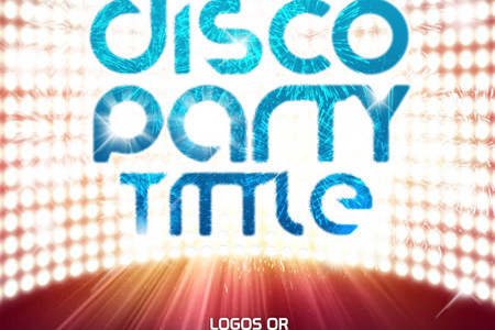 Club Dance Party Poster Template
