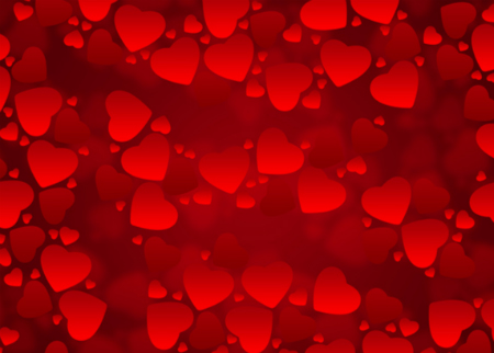 High Resolution Heart Shaped Background