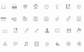 Soft Media Icons PNG