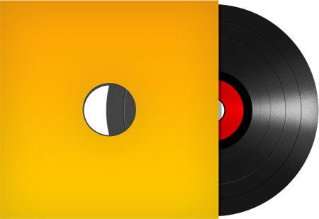 Vinyl Record Image and Icon Photoshop