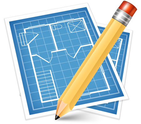 Blueprint Icon for Photoshop