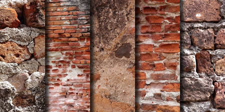 Brick Wall Textured Backgrounds