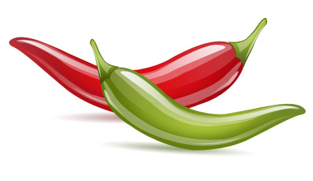 Chili Pepper Icons