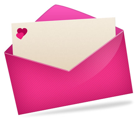 Love Letter Email Vector Icon