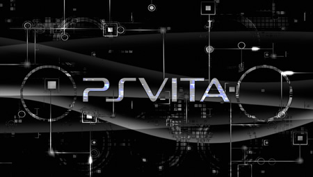 Black PlayStation Vita Wallpaper