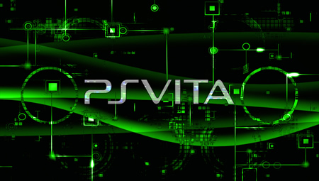 Green Playstation Vita Wallpaper