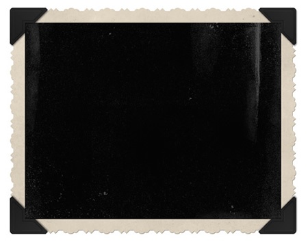 Vintage Picture Frame Template