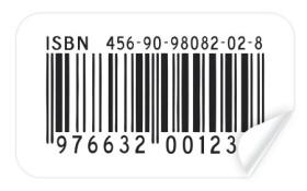 barcode sticker template. Black Bedroom Furniture Sets. Home Design Ideas