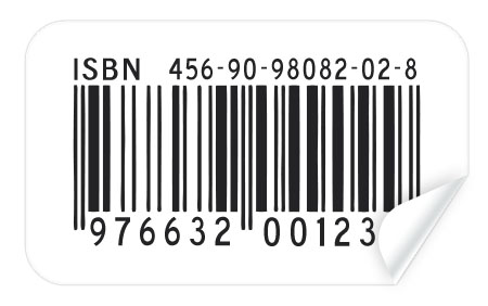 Barcode Sticker Template for Photoshop
