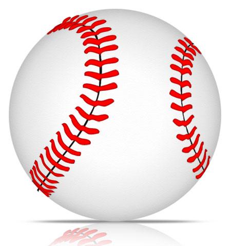 Baseball Icon for Photoshop