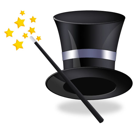 Magic Hat Icon for Photoshop