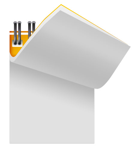 Opened Notepad Icon