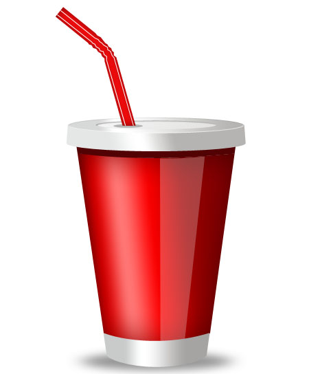 Plastic Drink Cup Icon PSD