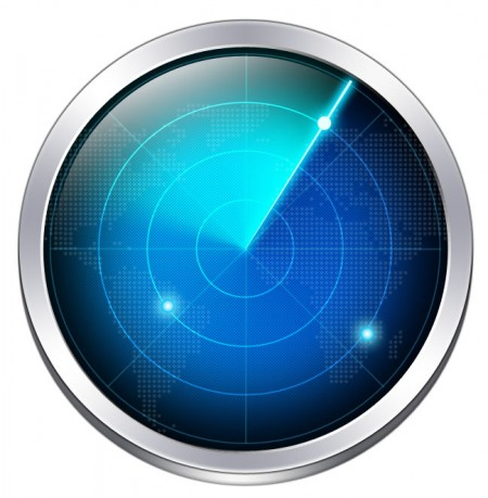 Vector Shaped Radar Icon