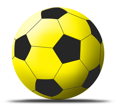 Soccer Ball Icon for Photoshop
