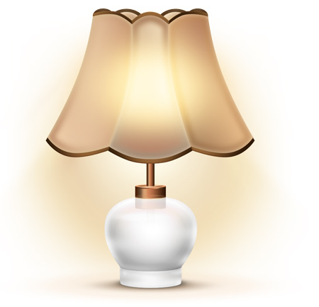 Antique Table Lamp Icon