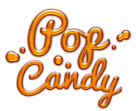 Candy Style Text Effect for Photoshop