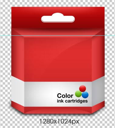 Cartridge Box PSD