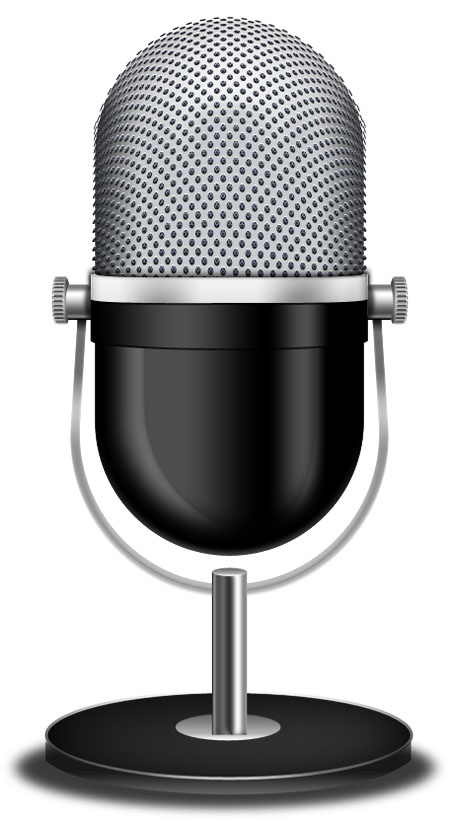 Vintage Microphone Icon