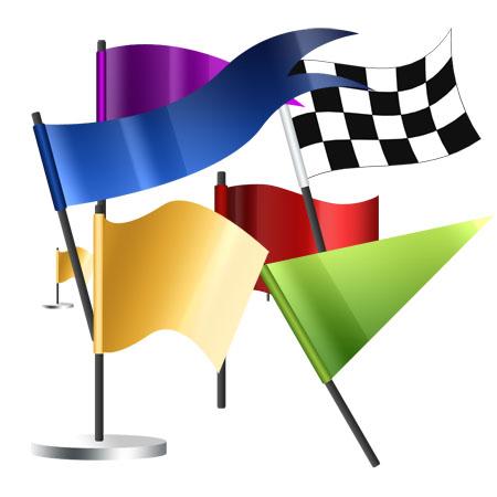 6 Creative Flag Icons