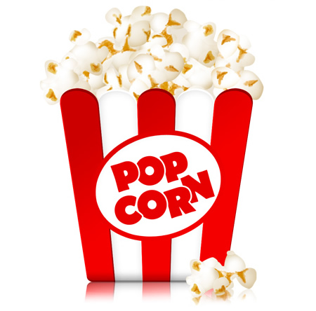 Popcorn Box Movie Icon
