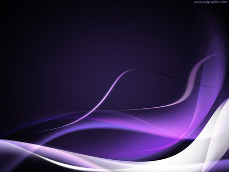 Purple Flowing Waves Abstract Background