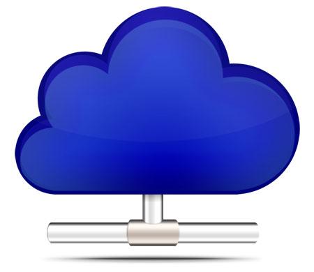 .Cloud Computing Icon