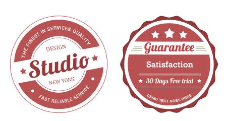 Vintage Badge Design Templates