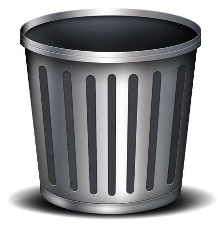 Trash Bin Icon PSD