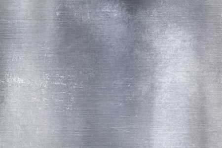 Silver Metal Grunge Textured Background