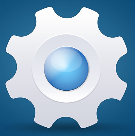 System Settings Icon PSD