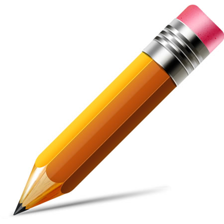 Vector Pencil Icon PSD & PNG