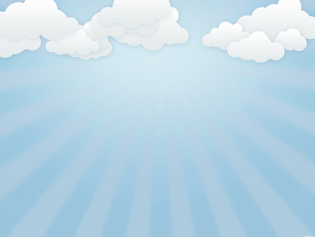 Soft Blue Cloudy Sky Background
