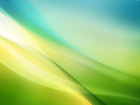 Blurry Green and Yellow Abstract Background