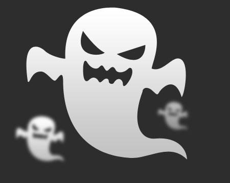 Halloween Ghost (PSD)
