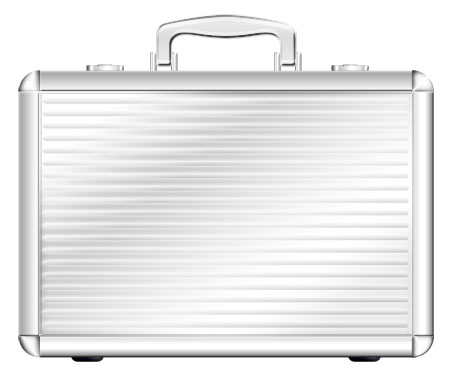 Metal Briefcase Icon