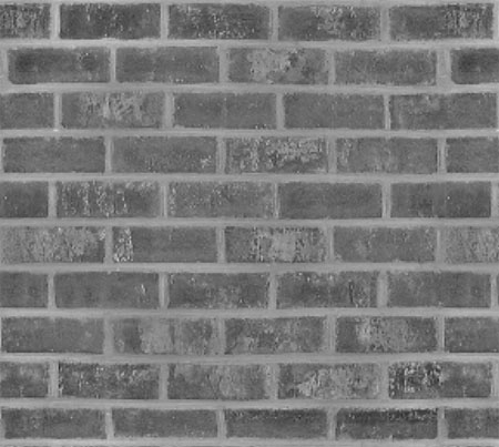 Dark seamless brick texture background PSD