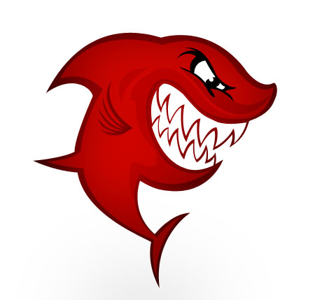 Shark Icon PSD