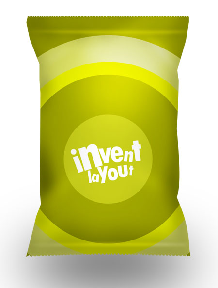 Snack Packaging Bag for Photoshop