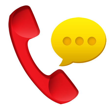 Voice Mail Message Icon for Photoshop
