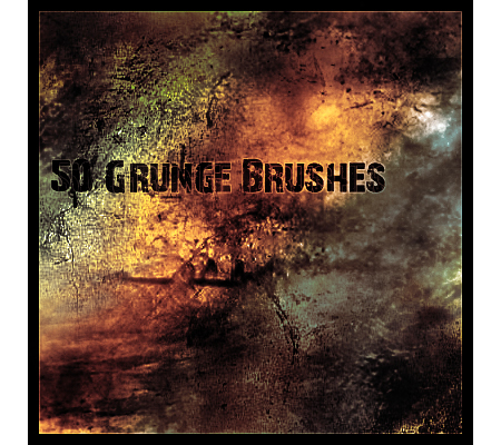 50 Grunge Style Brushes for Photoshop