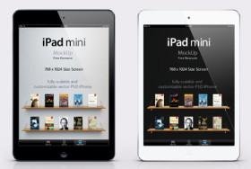 iPad Mini Template for Photoshop